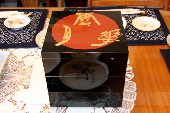 Osechi lacquer box