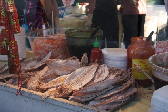 Dried squid
