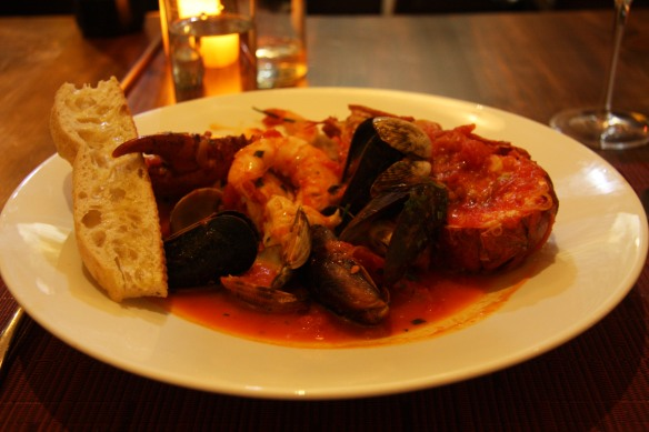 Shellfish Fra Diavolo