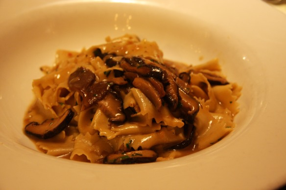Funghi pappardelle