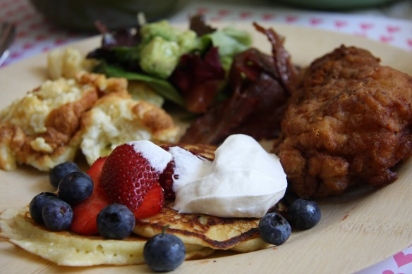 brunch plate