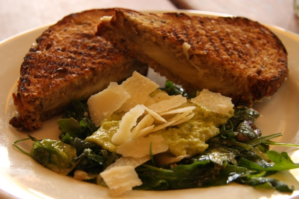 Grilled Garlic Melt