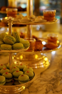 Tea time at Le Meurice Hotel