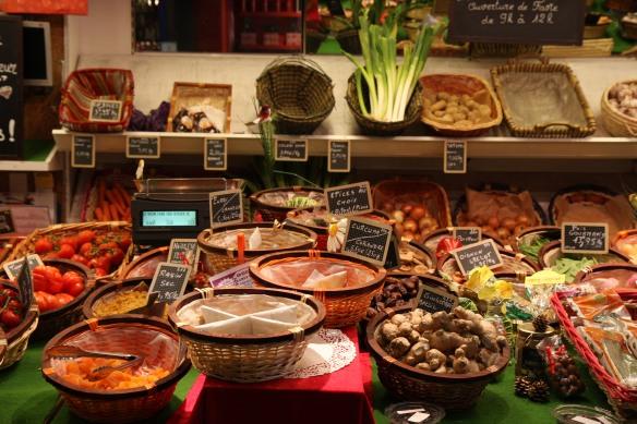 Vegetable stall