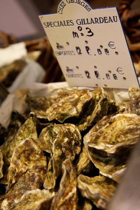 Speciales Gillardeau N3 oysters