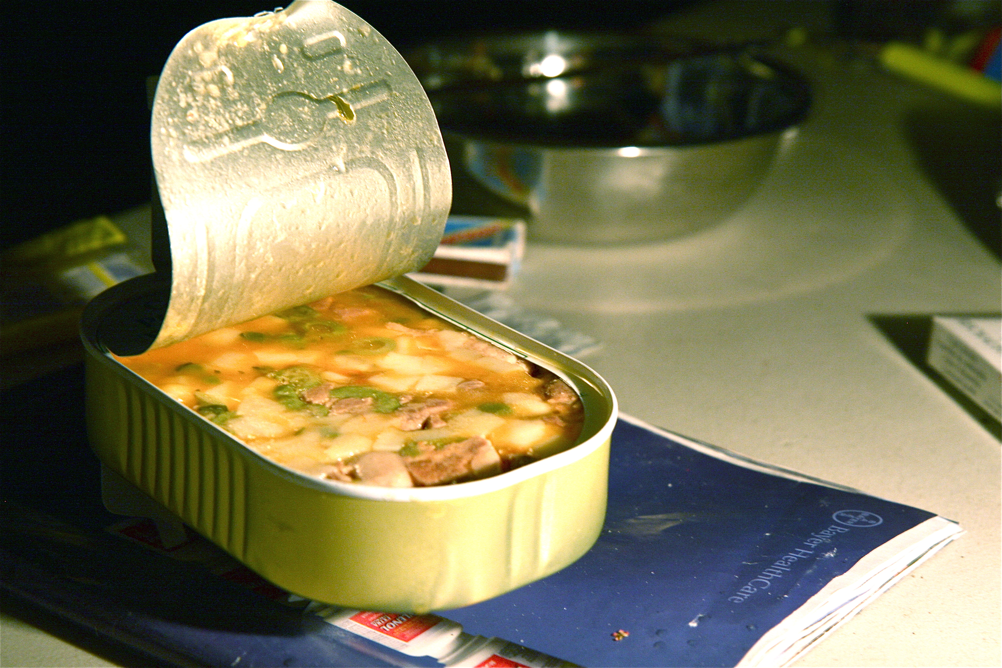 When Was The First Canned Food Made