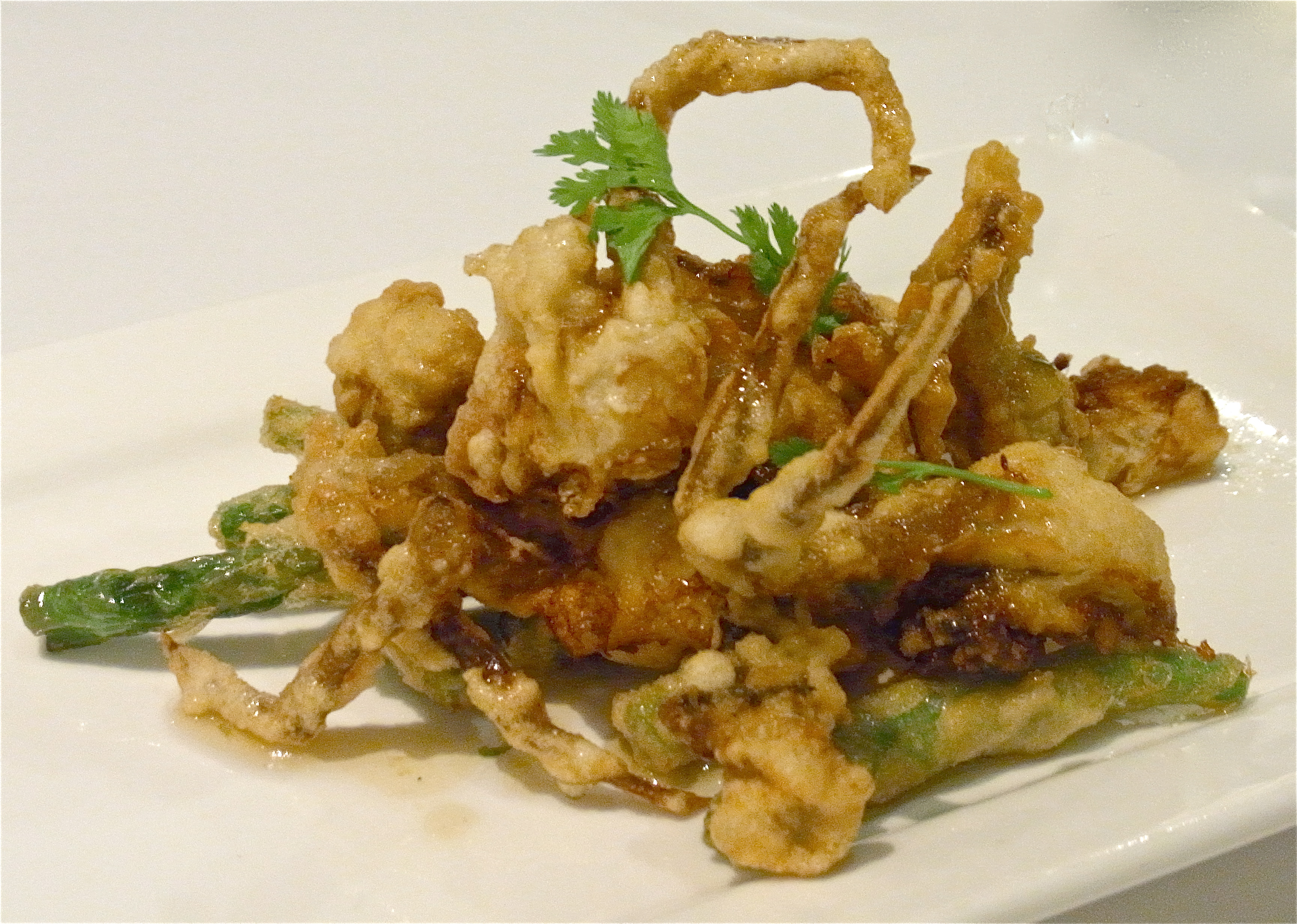 how to make fried soft shell crab