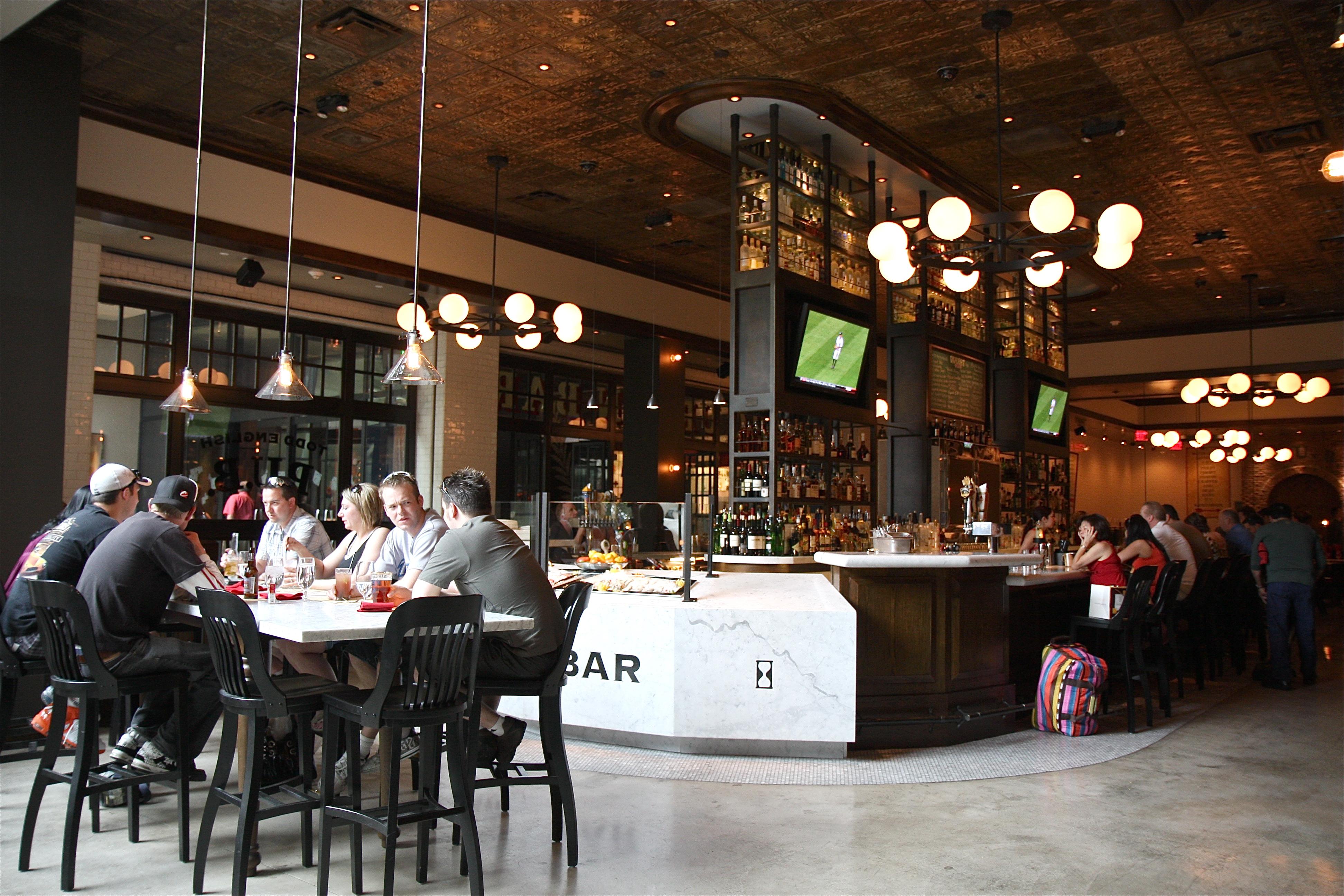 Contemporary Restaurant and Pub Decor by DV8 Designs contemporary ...