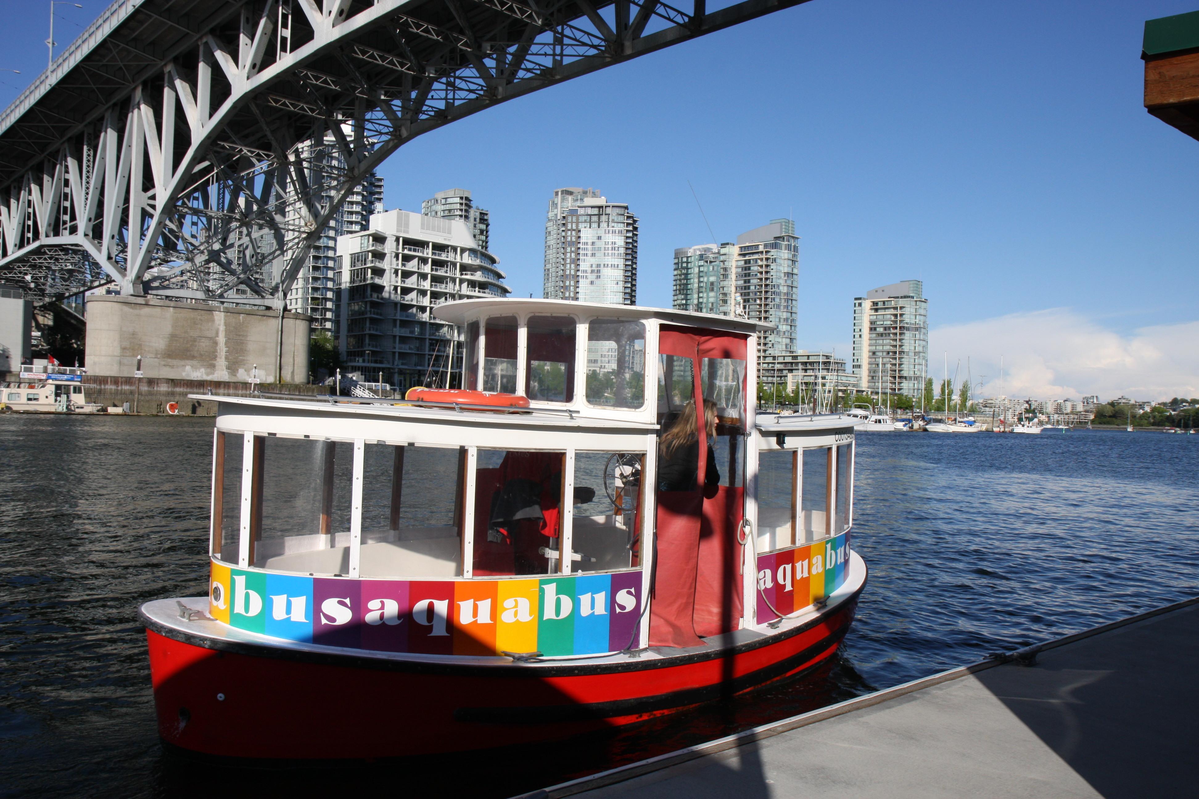 Vancouver Ferries Granville Island